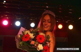 Победительница конкурса Мисс Локомотив 2008