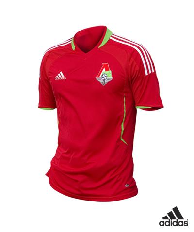 Adidas и ФК Локомотив представили новую игровую форму