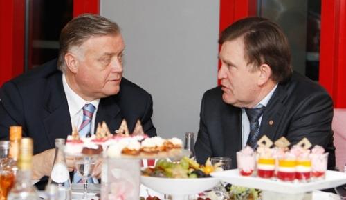 Встреча с партнёрами клуба (фото)