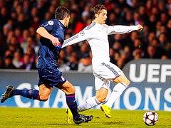 Реал на выезде уступил Лиону