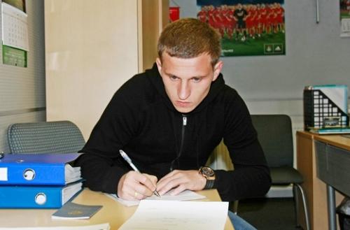Александр Алиев подписал контракс с ФК Локомотив