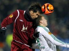Рубин сыграл вничью с Вольфсбургом в 1/8 финала Лиги Европы
