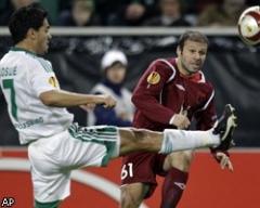 Рубин не вышел в четвертьфинал Лиги Европы