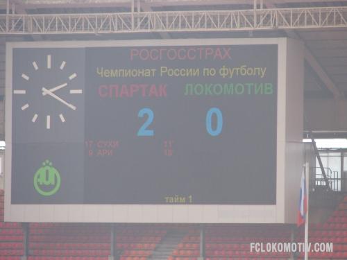 Фоторепортаж с матча Спартак - Локомотив