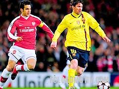 Арсенал вырвал ничью в матче с Барселоной