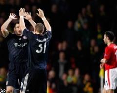 Бавария выбила Манчестер Юнайтед из Лиги чемпионов