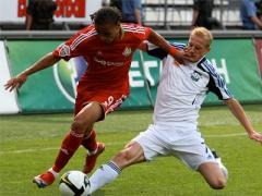 Чемпионат России: Локомотив 0:1 Сатурн