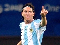 Лионель Месси.  Аргентина