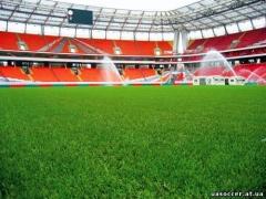 Комиссия УЕФА посетила стадион Локомотива