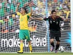 ЮАР и Мексика сыграли вничью