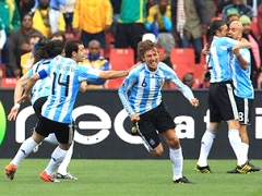 Хайнце принес победу сборной Аргентины над Нигерией