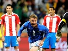 Итальянцы ушли от поражения в матче с Парагваем