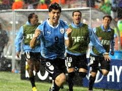 Дубль Суареса вывел Уругвай в четвертьфинал ЧМ