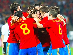 Испания.  Германия