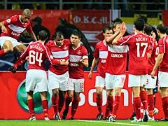Спартак одержал вторую подряд победу в Лиге Чемпионов