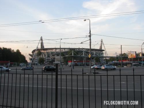 Фоторепортаж с матча Локомотив - Терек