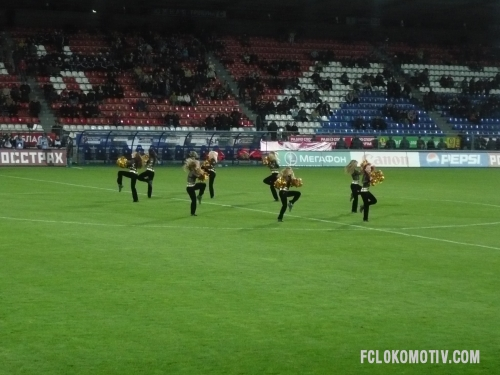 Фоторепортаж с матча Сатурн - Локомотив