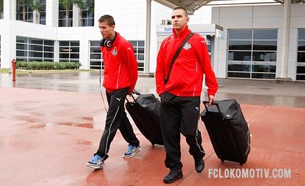 Иванов и Полоз прилетели в Турцию