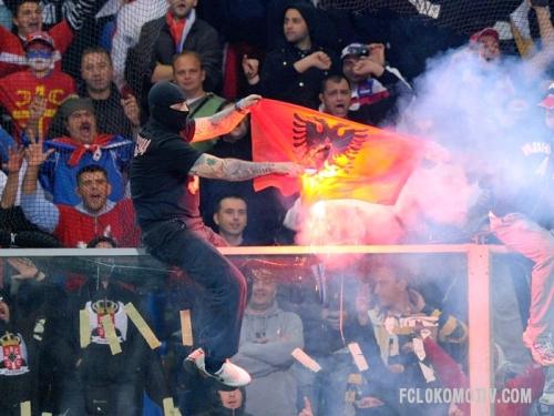 """Сербские фанаты получили от 12 до 35 лет тюрьмы за убийство болельщика """"Тулузы"""""""