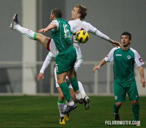 Фоторепортаж с матча Локомотив - Коньяспор