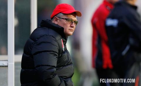 Фоторепортаж с матча Локомотив - Волеренга