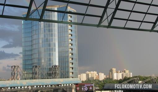Репортаж с матча ЦСКА - Локомотив