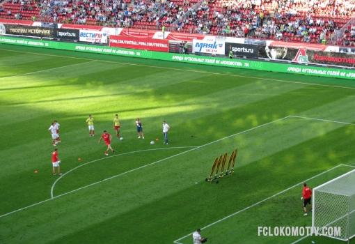 Репортаж с матча Локомотив - Ференцварош
