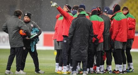 Фотоотчет о прошедшем матче с официального сайта УЕФА