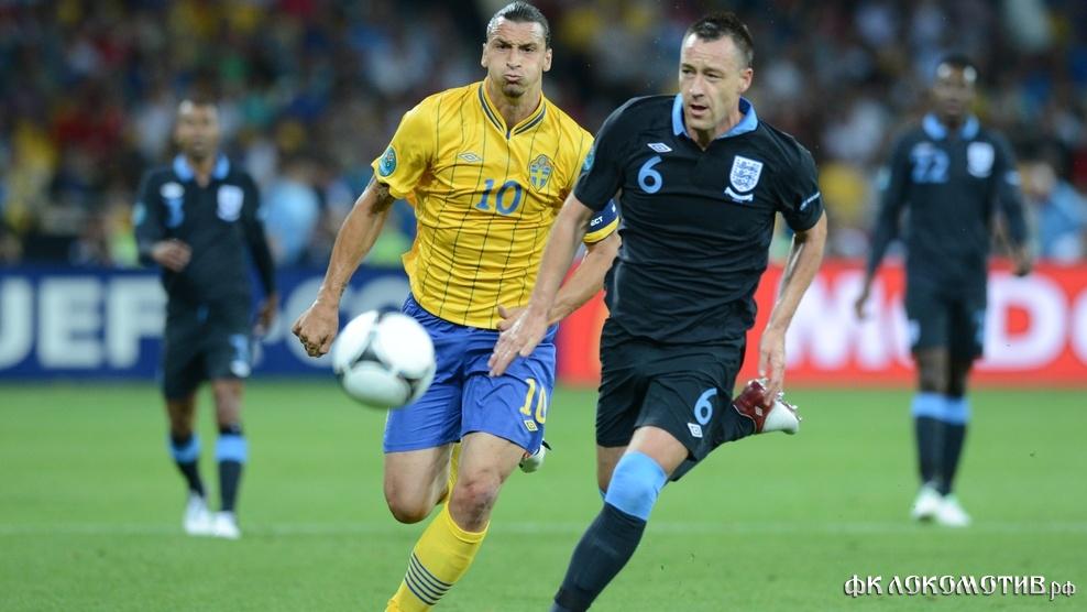 Сборная Англии отпраздновала победу над командой Швеции в Киеве