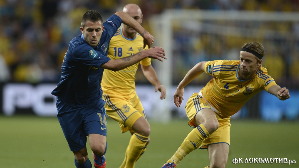 Сборная Франции в Донецке обыграла сборную Украины
