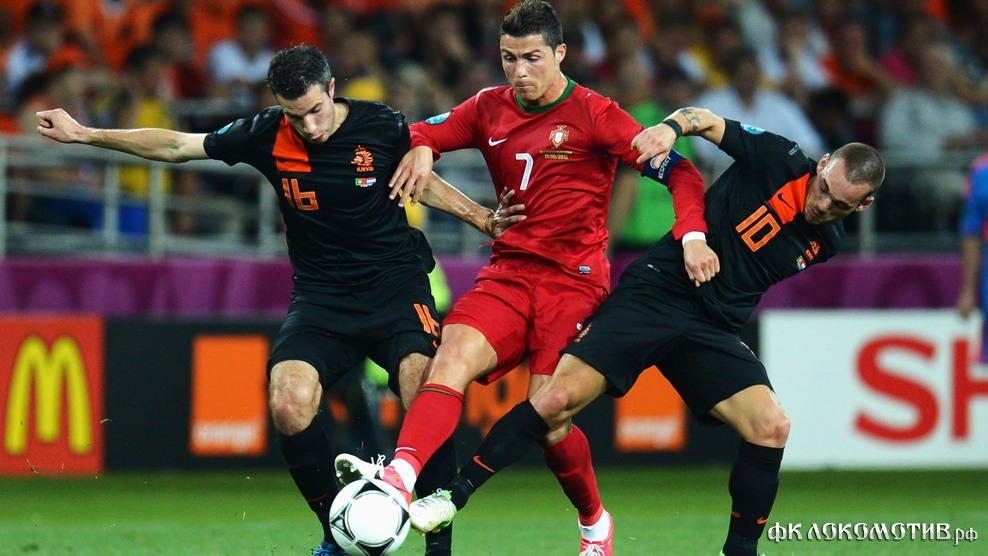 Дубль Роналду принёс победу сборной Португалии над Нидерландами