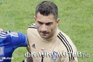 Основной голкипер сборной Греции пропустит матч с Россией на Евро-2012
