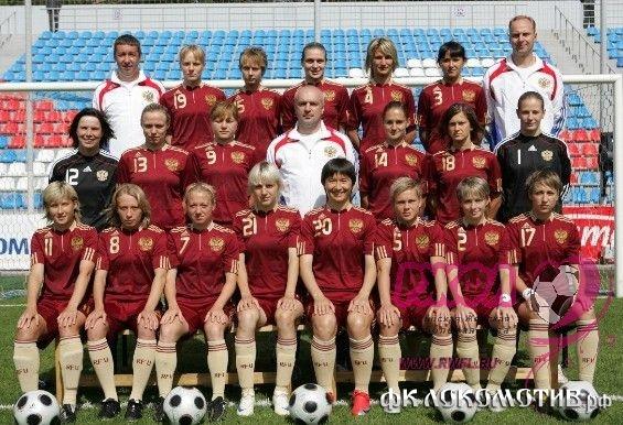 Женская сборная России разгромила Грецию