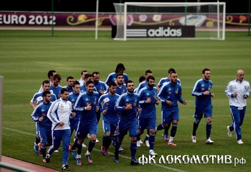 Греки готовятся к финалу