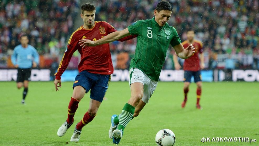 Испания разгромила Ирландию