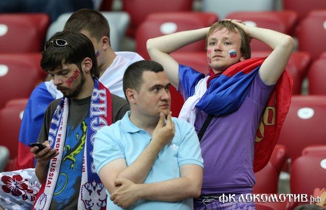 Россиянам стал безразличен футбол