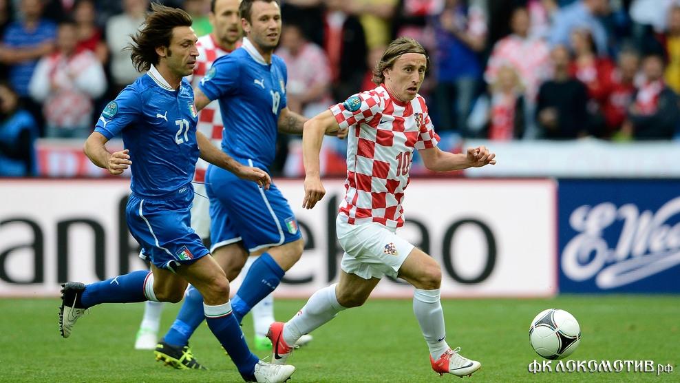 Италия и Хорватия сыграли вничью