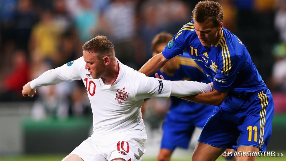 Сборная Англии взяла верх над командой Украины в Донецке