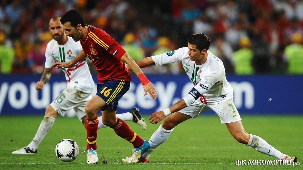 Сборная Испании в серии пенальти победила Португалию и вышла в финал