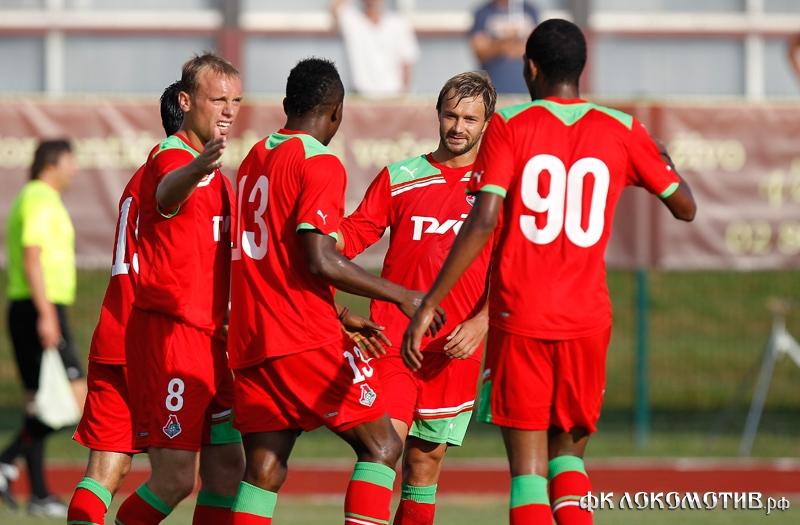 «Локомотив» - «Партизан» 2:0