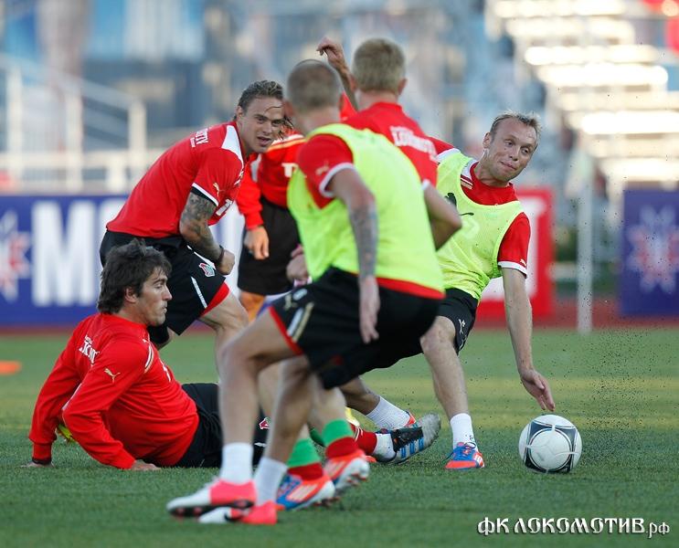 Тренировка в Саранске