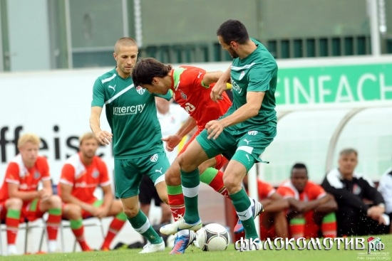 Локомотив - Бурсаспор 3:1