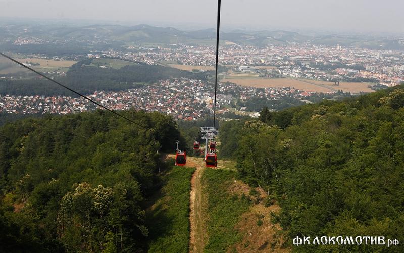 Сбор в Словении. Обед на высоте 1042м