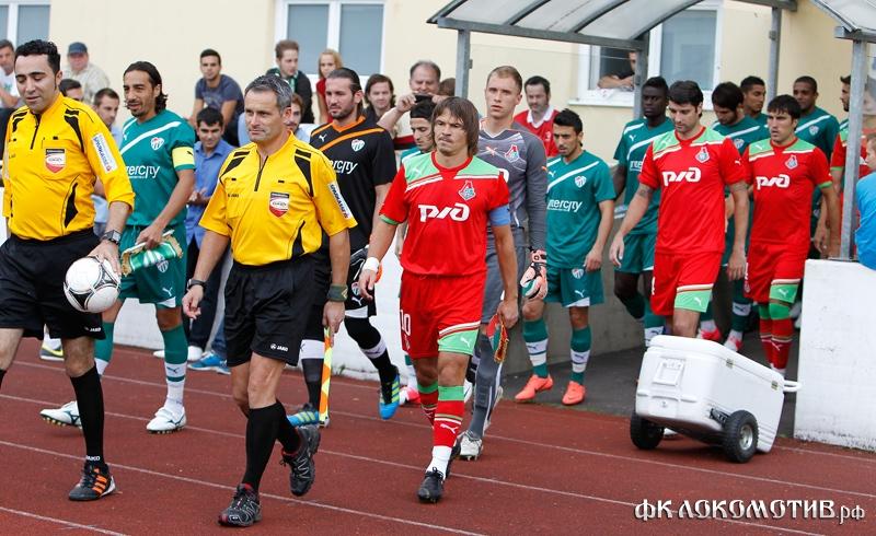 «Локомотив» - «Бурсаспор» 3:1