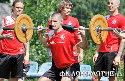 Тарас Бурлак: «Давно не было таких нагрузок на тренировках»