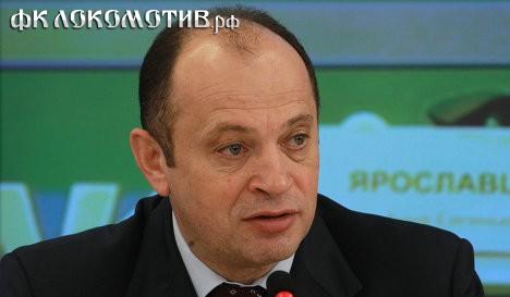 Прядкин представил свою программу развития российского футбола