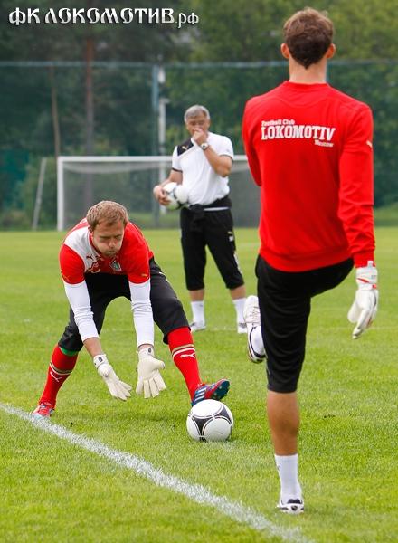 «Локомотив» начал подготовку к матчу с «Аланией»