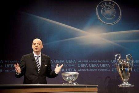 Результаты жеребьевки Лиги Чемпионов и Лиги Европы 2012/2013