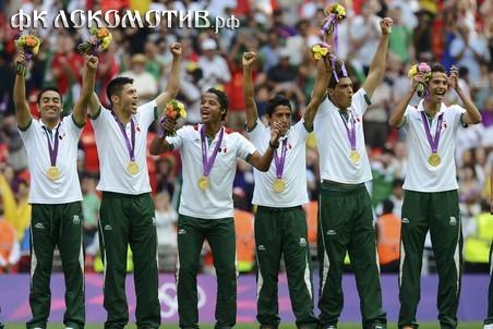 Мексика обыграла Бразилию и впервые стала олимпийским чемпионом по футболу