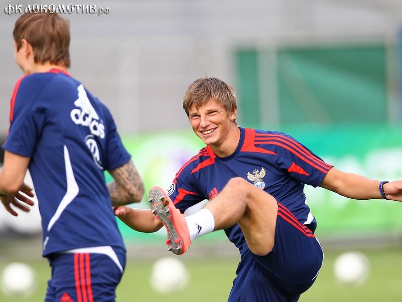 Аршавин остался капитаном сборной России